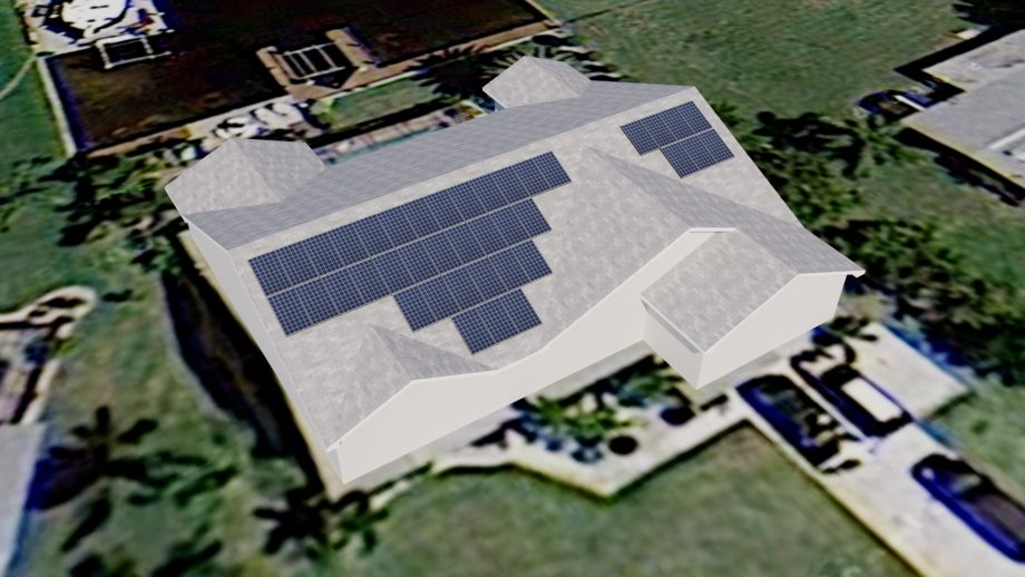 Solar Panel Design Renderings