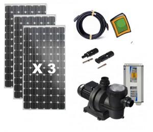 Solar Pool Pump Kit