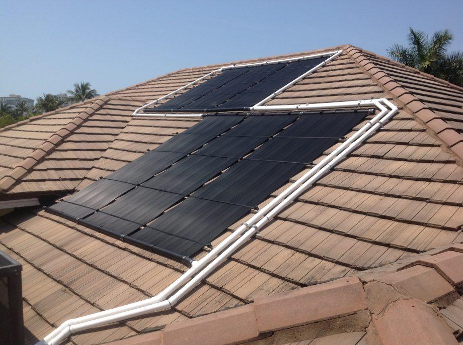 Naples Flat Tile Solar Pool Heater