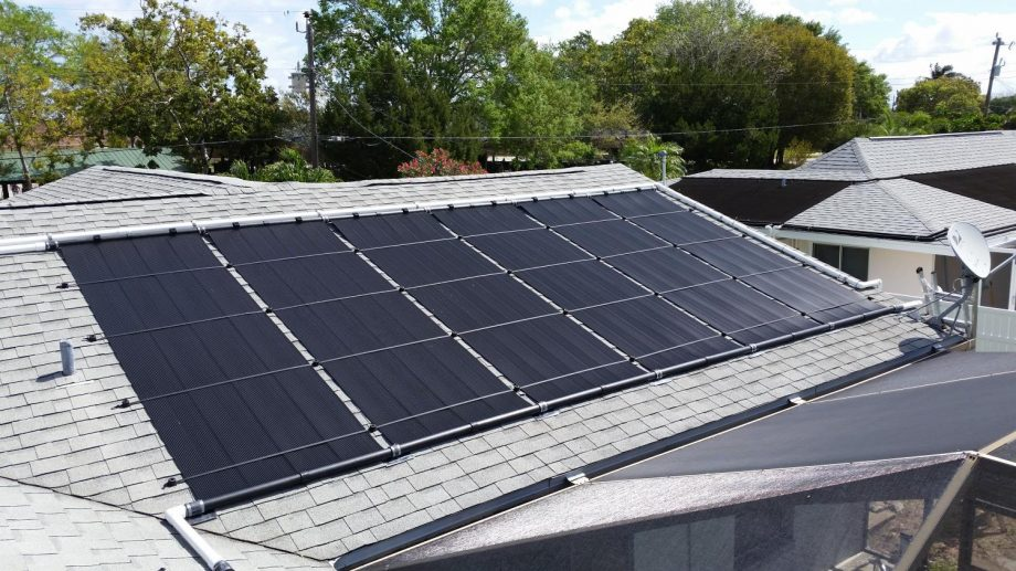 Solar Pool Heating System in Cape Coral, FL