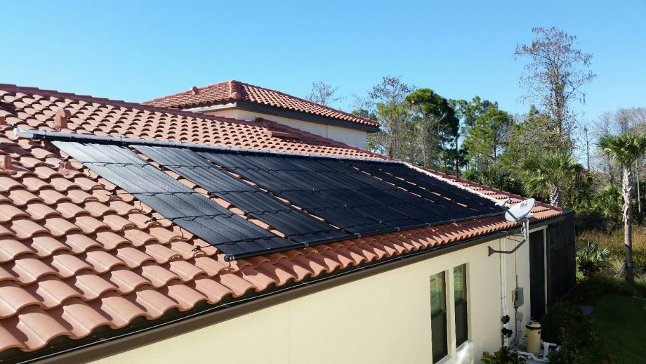 A Solar Swimming Pool Heater in Fort Myers, FL