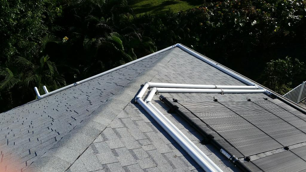 Solar Pool Heating Installation Photo From Northwest Cape