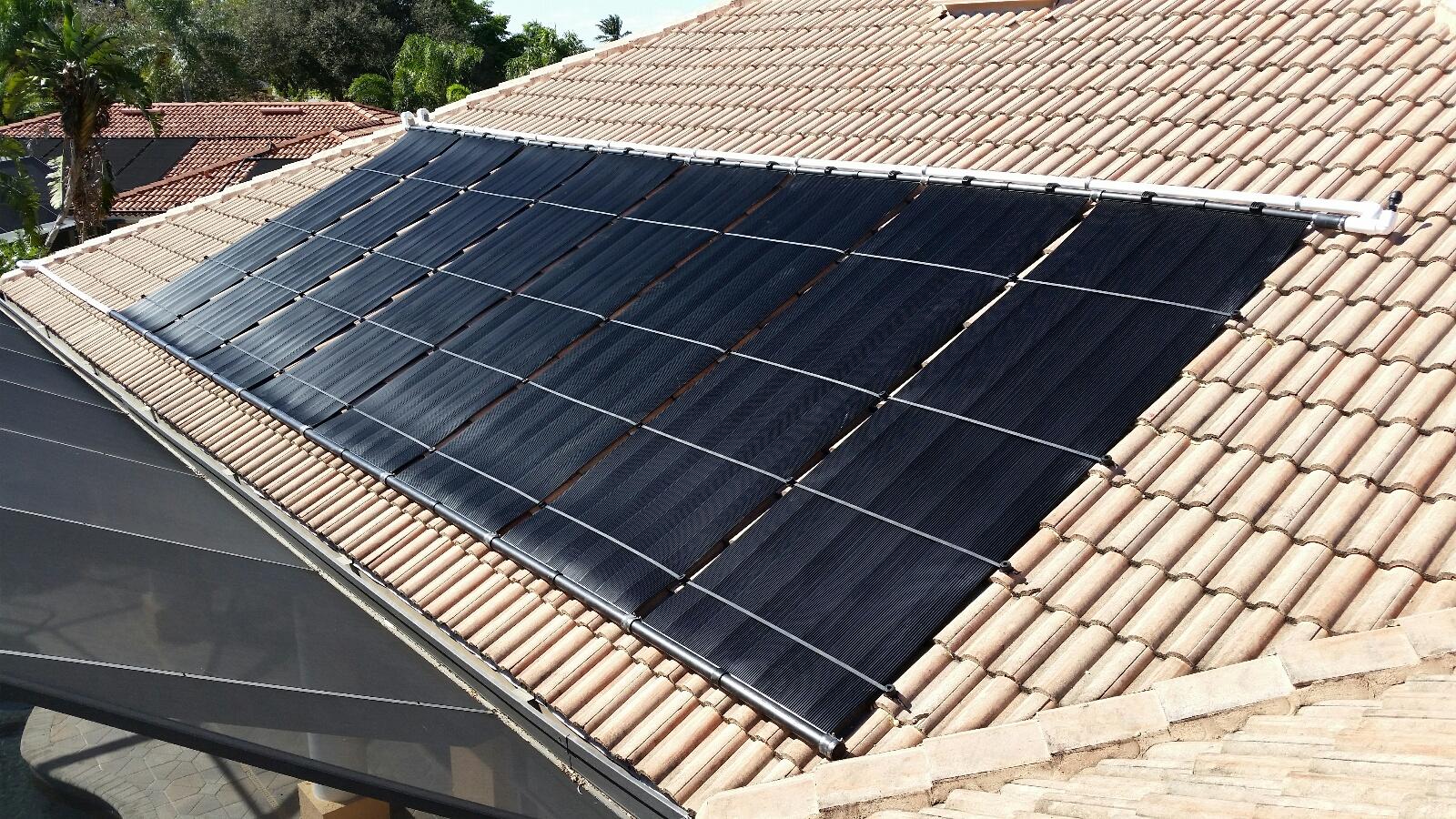Wonderful Cape Coral Solar Pool Heater Installation