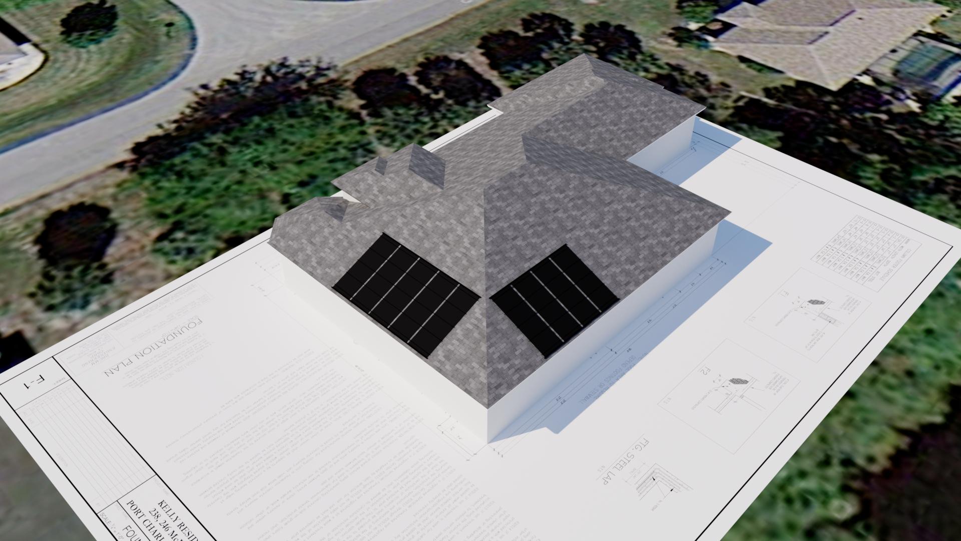 Port Charlotte Solar Pool Heater Design For New Home