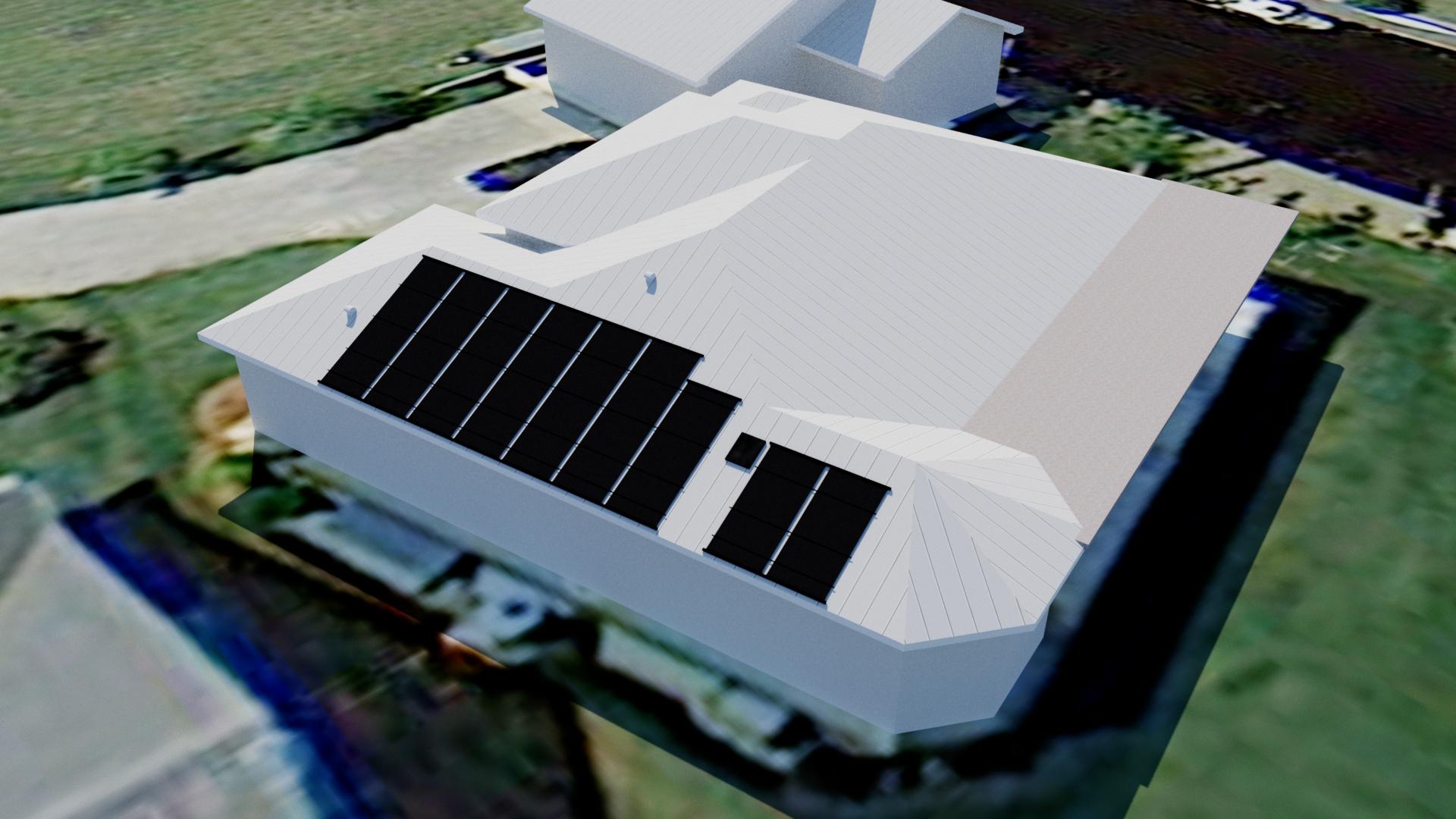 Alva Solar Pool Heating Design