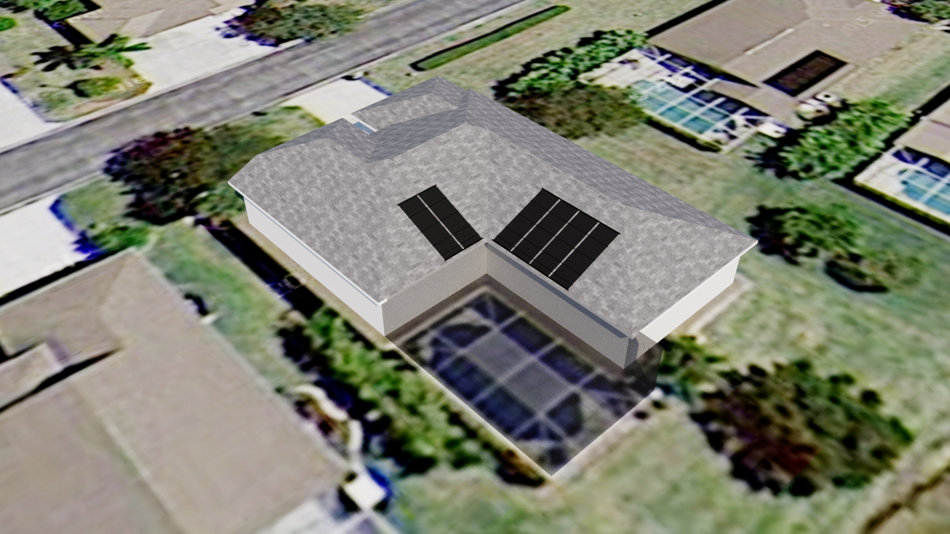 Solar Pool Heating System Design in Fort Myers