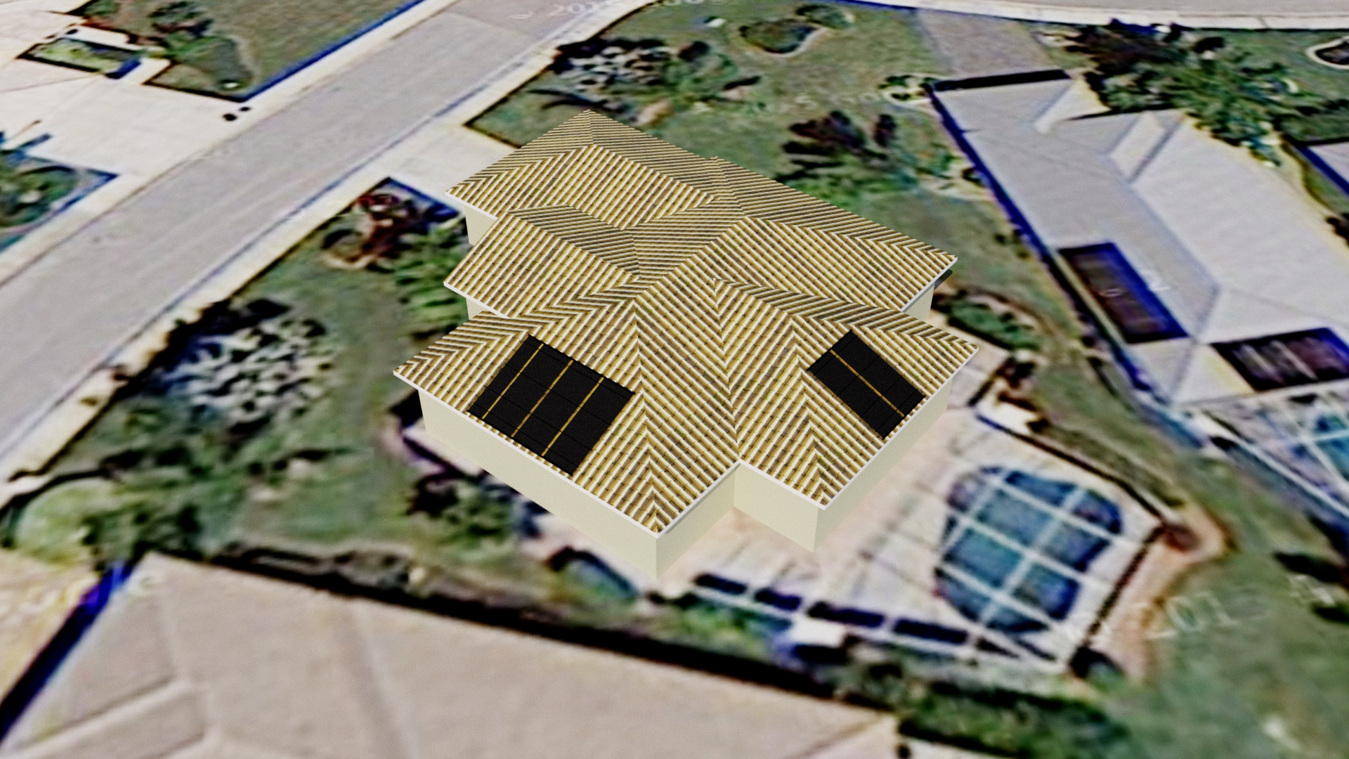 North Fort Myers Solar Pool Heating Panels