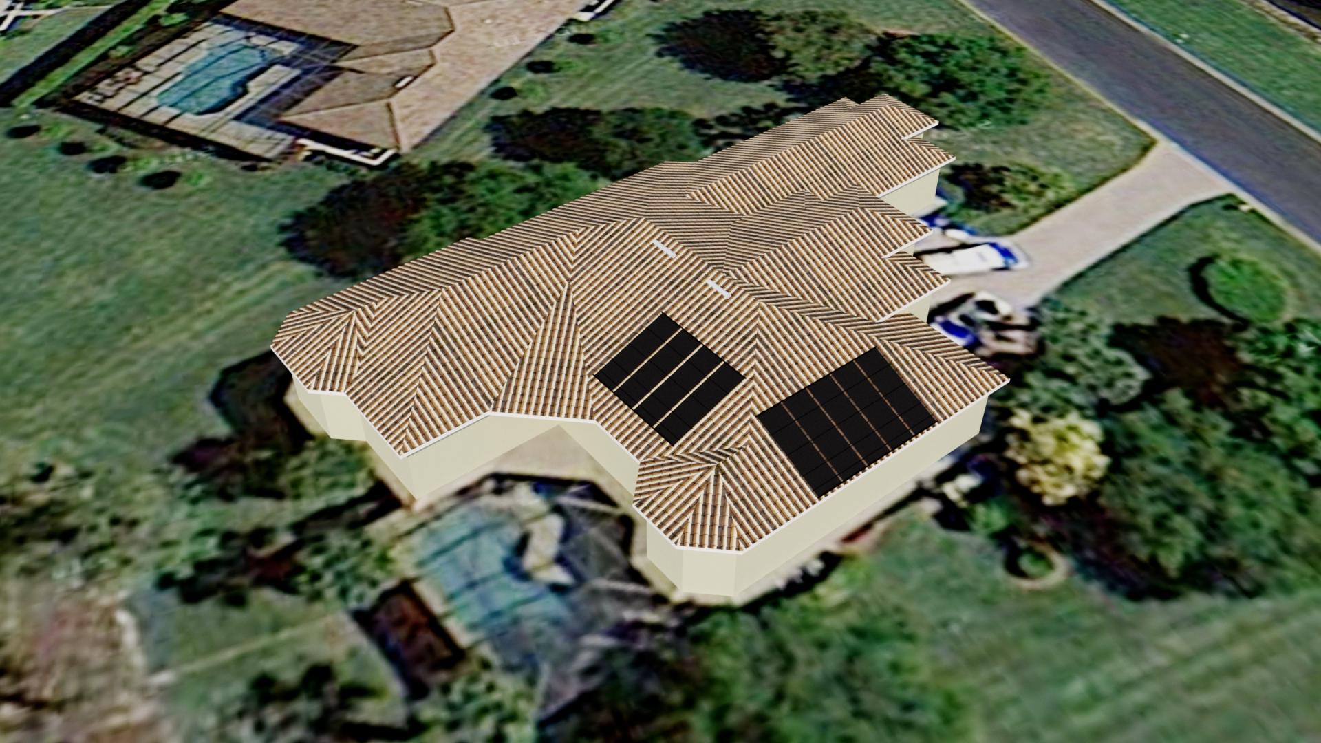 Estero Solar Pool Heating Design