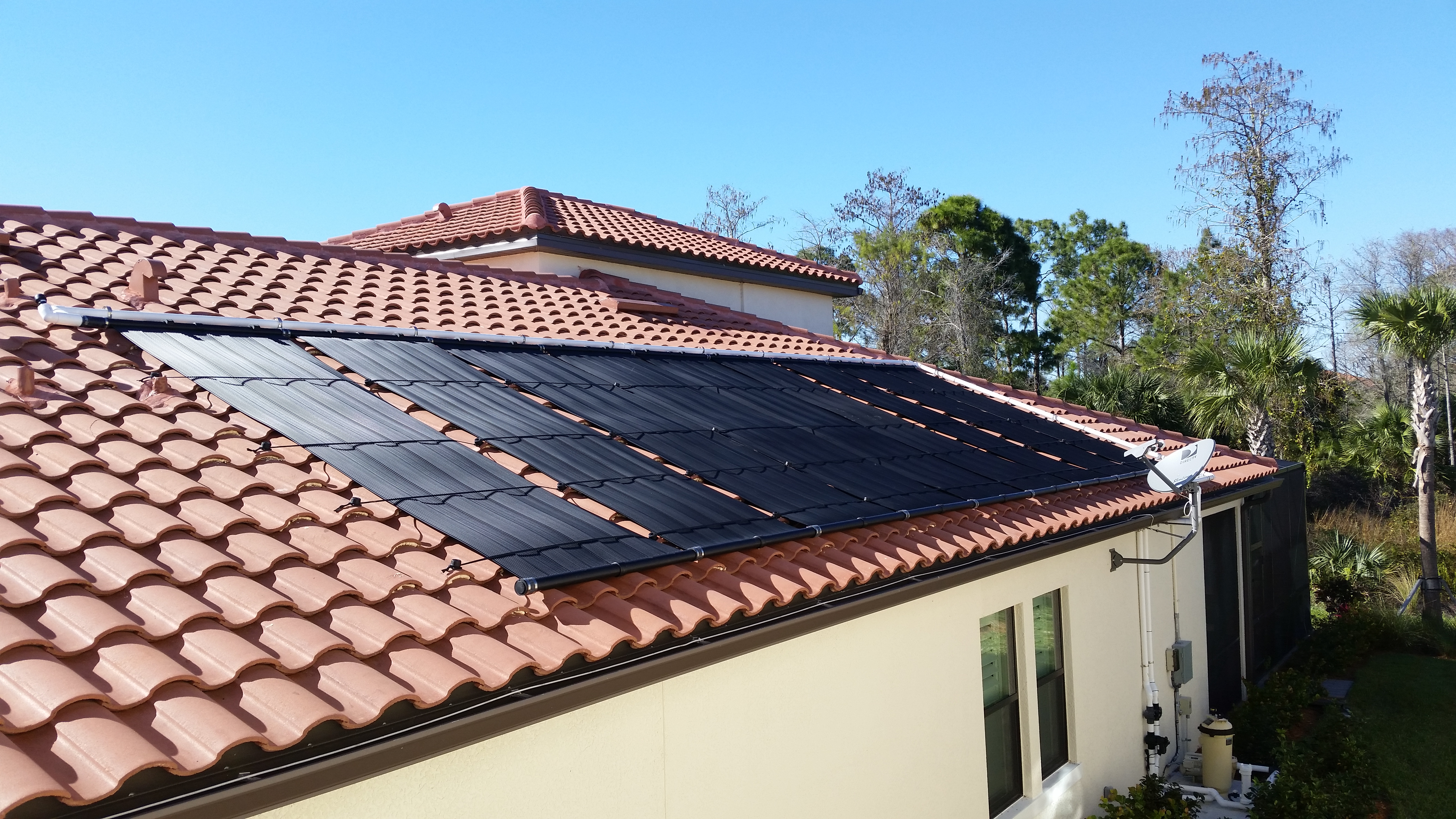 Naples Home Gets Solar Pool Heater Florida Solar Design