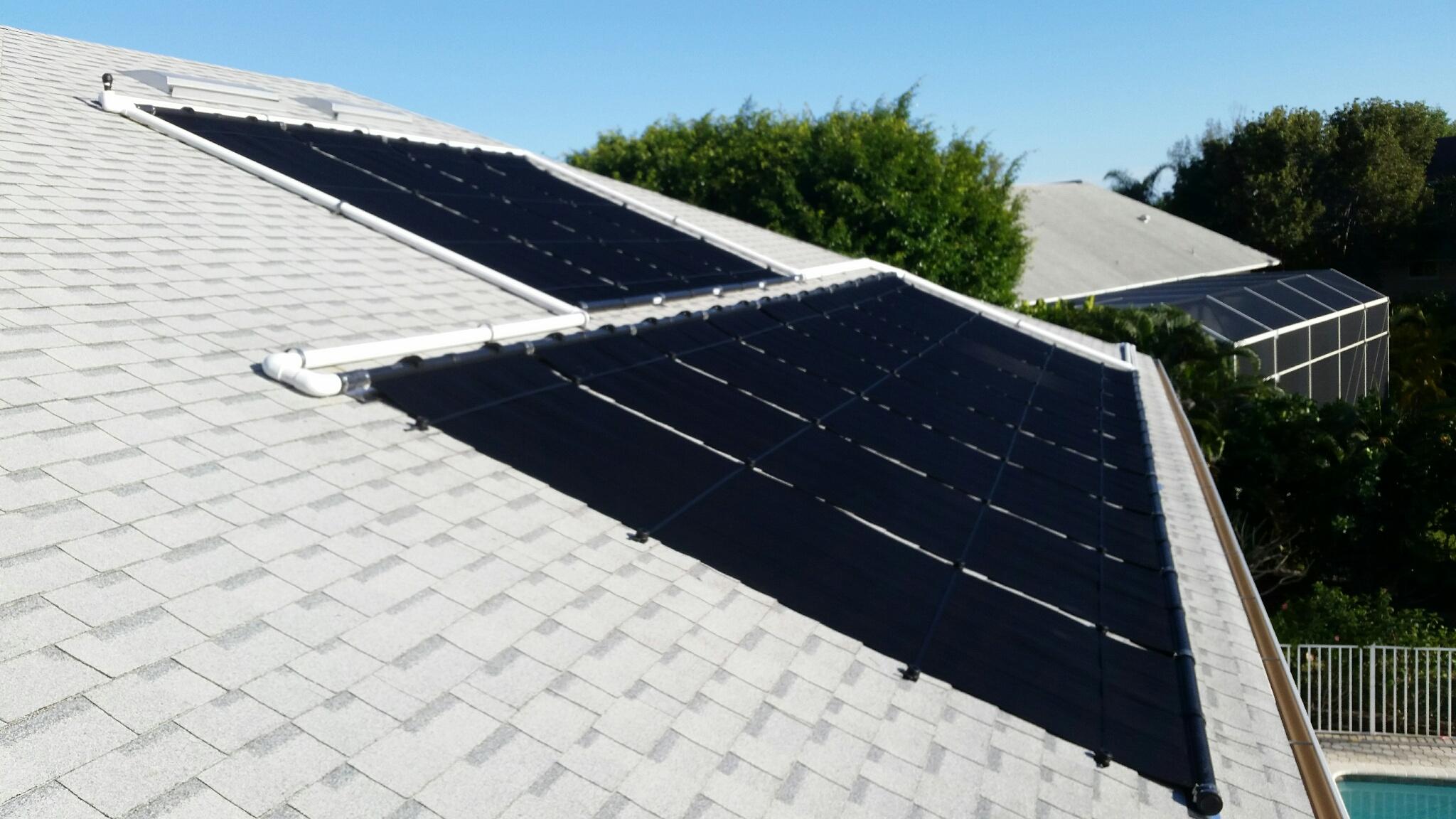 iSwim Solar Pool Heater Installation