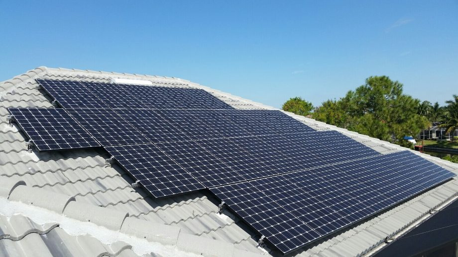 Cape Coral Solar Electric Photovoltaic PV System Installation