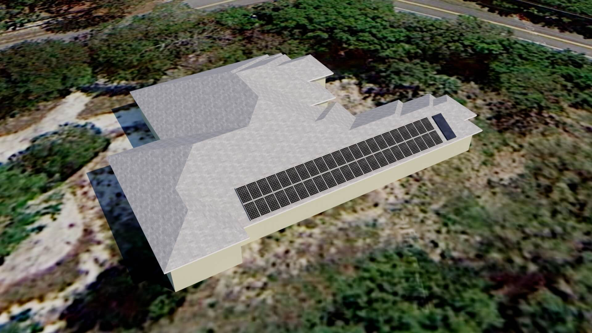Solar Electric And Water Heating System For New Home In Naples Fl