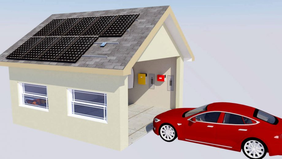 Tesla-Model-S-Enphase-Microinverter