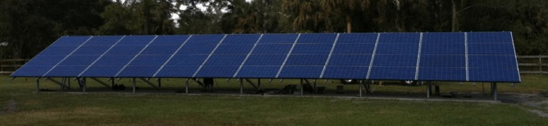 Off-Grid Ground Mounted Solar Panels