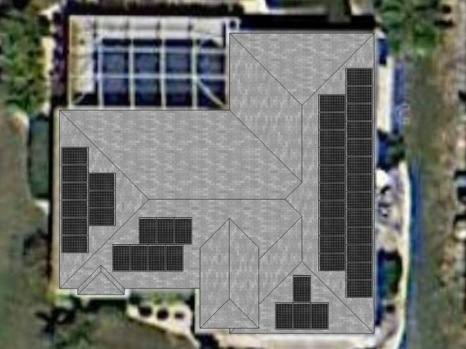 Photovoltaic Panels on Cape Coral, FL Home