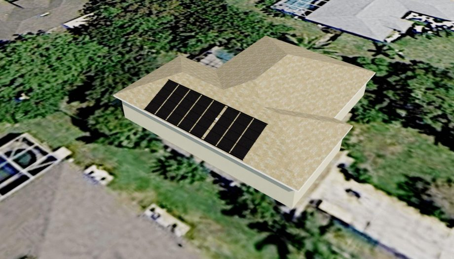 Cape Coral Solar Pool Heater Avoids Roof Vent