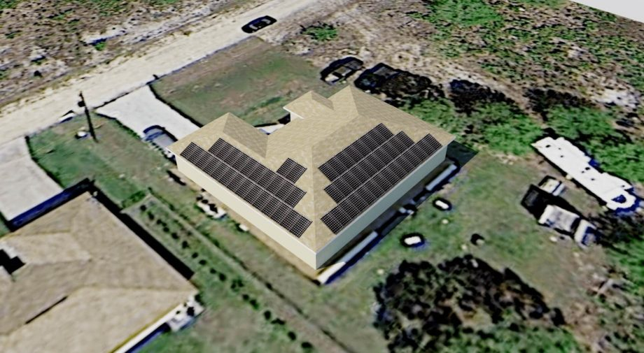 Solar Electricty - Lehigh Acres, FL - Design Rendering