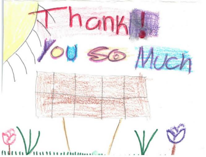 Soalr Energy Thank You Amazing!