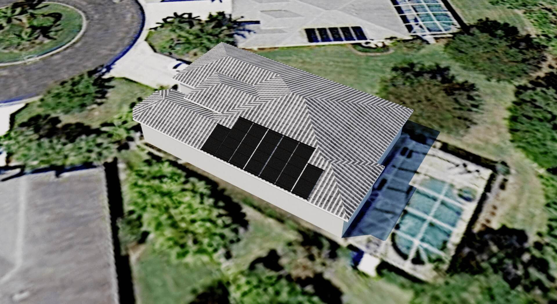 Solar pool panel and solar electric panel designs fort for Solar panel blueprint