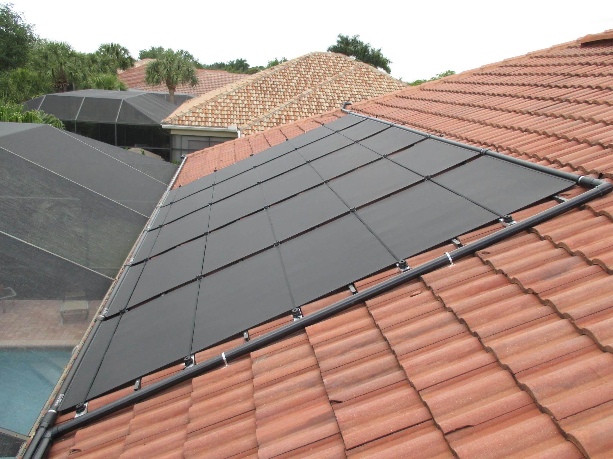 Solar Pool Heater Installation In Bonita Springs Fl