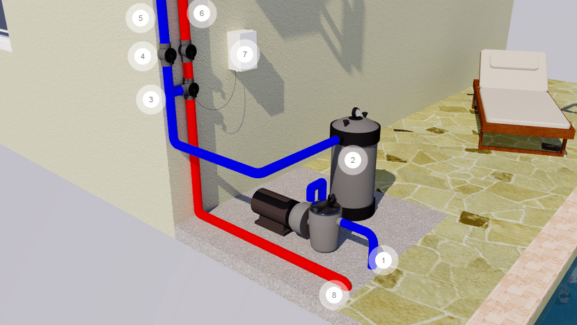 Solar Pool Heating System Plumbing Thumbnail