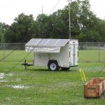 Mobile Solar Generator Trailer at Ham Radio Emergency Management Day