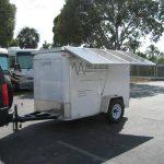 Mobile Solar Generator Trailer Solar Panels Extended