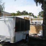 Mobile Solar Generator Trailer Construction Site