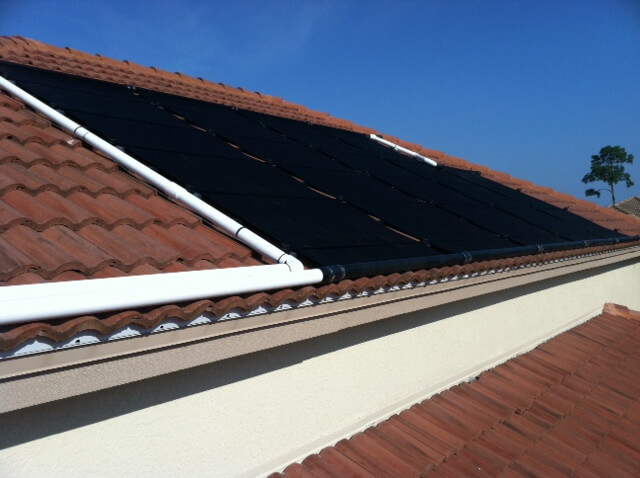 Naples, FL Solar Pool Heater Installation