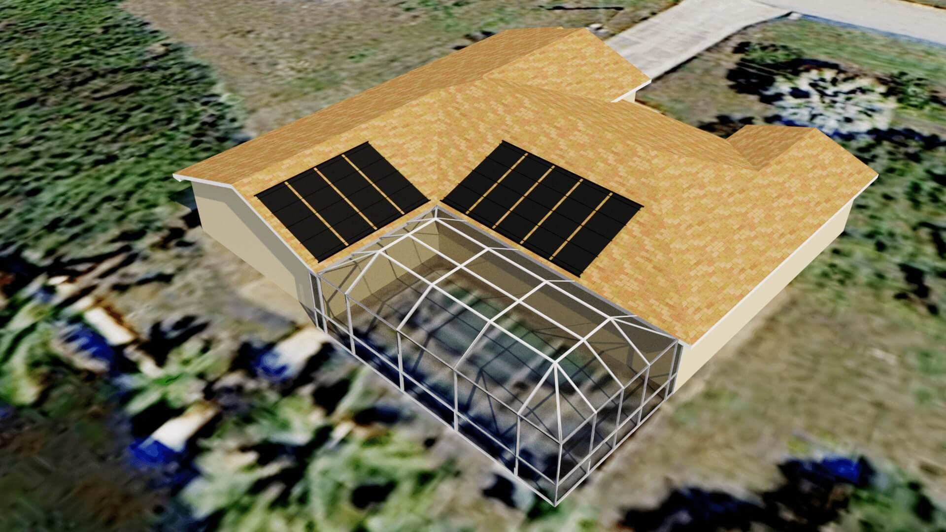 Cape Coral Fl Solar Pool Heating System Design Above Pool
