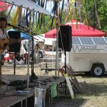 Mobile Solar Generator Powering a Band