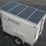 Mobile Solar Generator Solar Panels