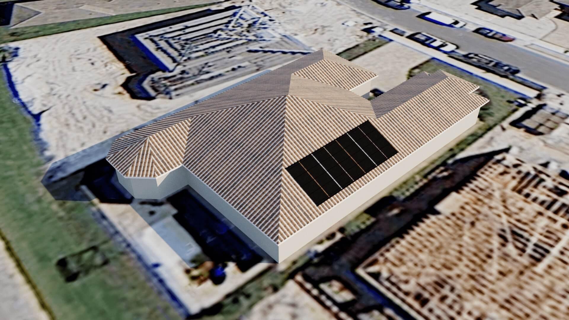 Naples, FL Solar Pool Heating System Design for New Pool