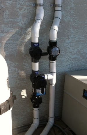 Solar Pool Heating Valve Manifold Explained