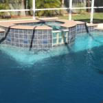 Pool/Spa Combo Cools Pool