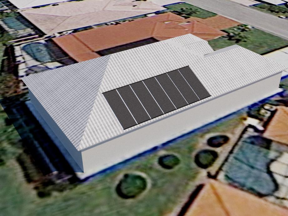Solar Pool Heater on Tile Roof in Bonita Springs, FL