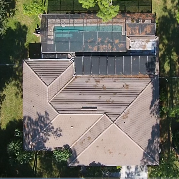 Solar Pool Heating on a Flat Roof