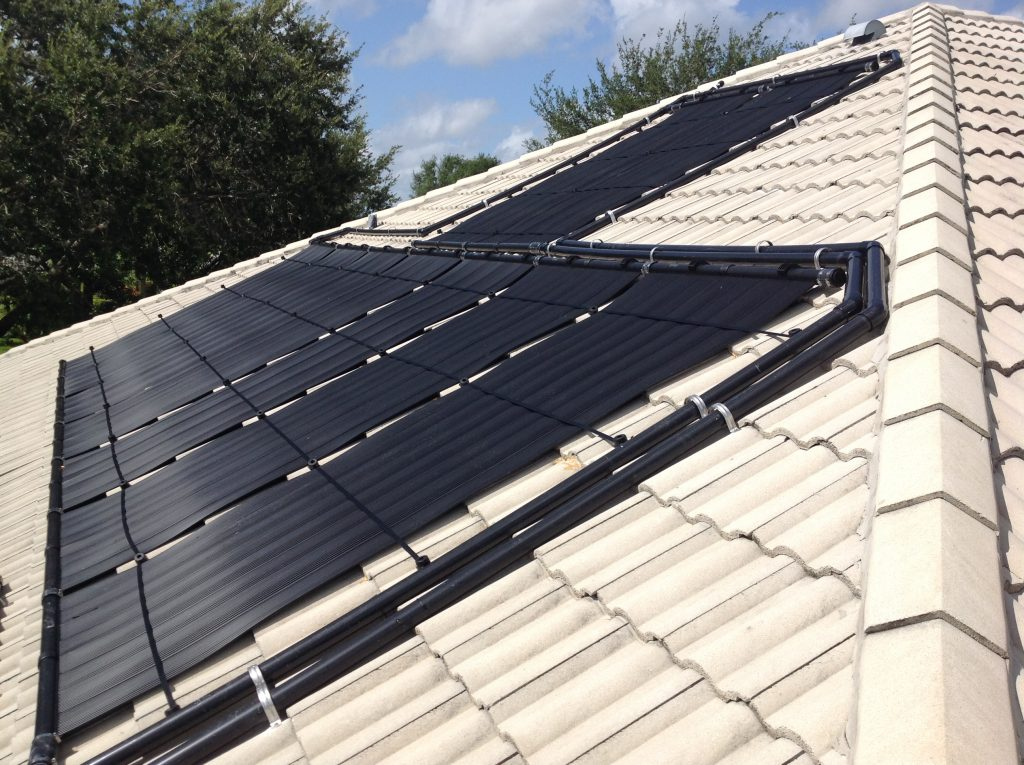 Fort Myers Home Gets Solar Pool Heating Panels