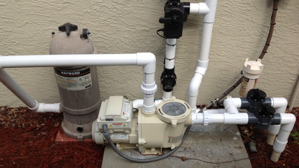 Pool Equipment Plumbing : Fort myers home gets solar pool heater florida