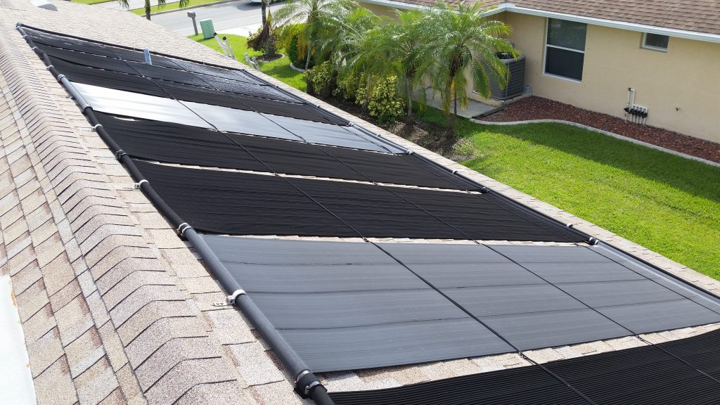You need to replace solar pool panels with the same brand and type.