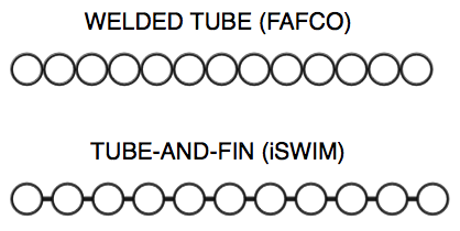 FAFCO vs iSwim Panel Body Design