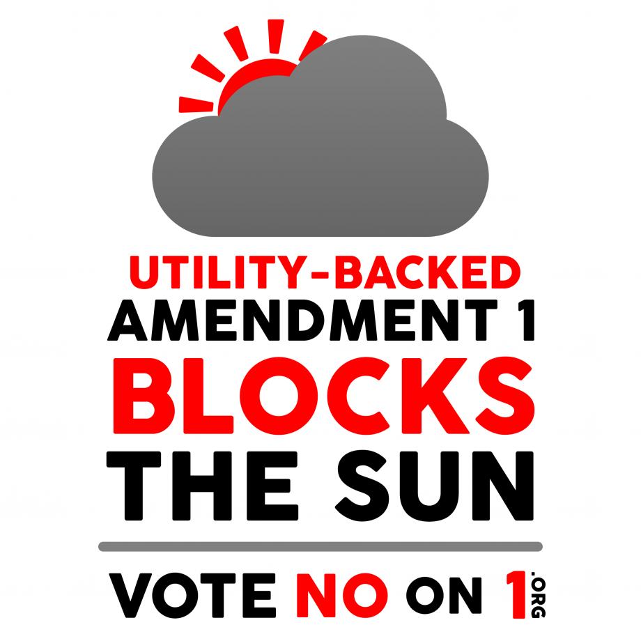 Florida Amendment 1 Solar VOTE NO