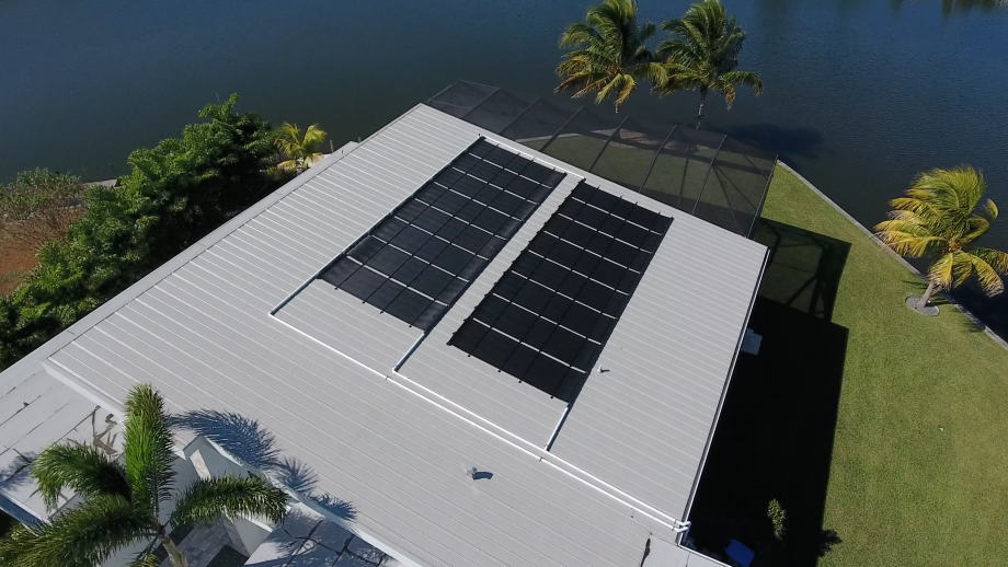 Cape Coral's Largest Solar Pool Heater