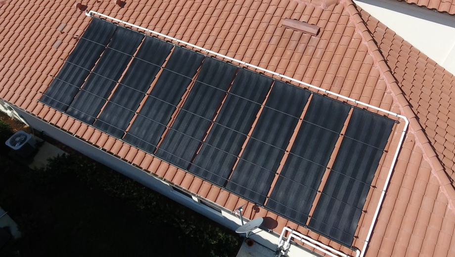 Solar Heated Pool in Raffia Preserve of Naples, FL