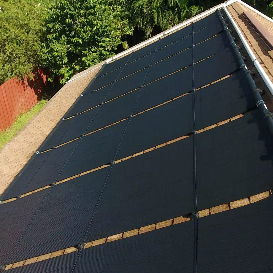 Pool Solar Panel Heating Performance Relies On High Flow Rates for Optimum Heating