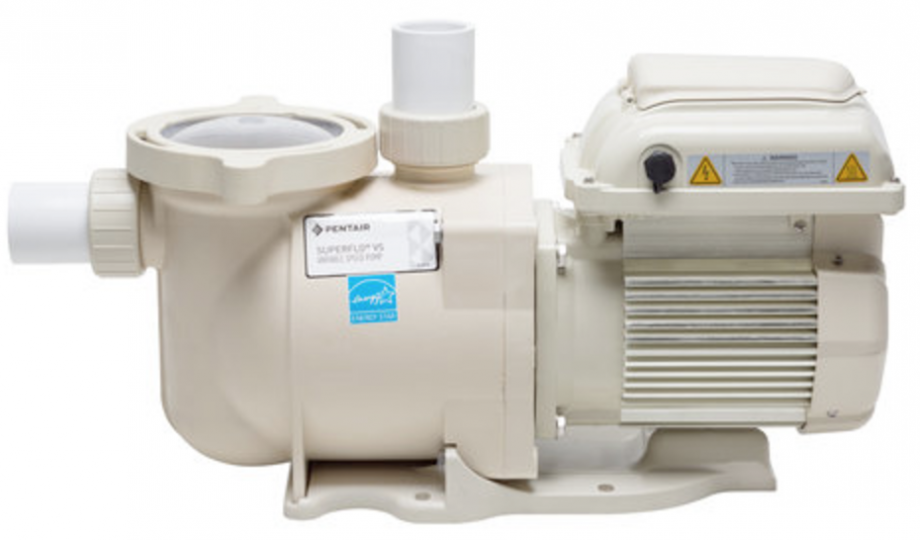 The Pentair Superflo VS 1.5HP Variable Speed Pump is a great alternative to a two-speed pump.