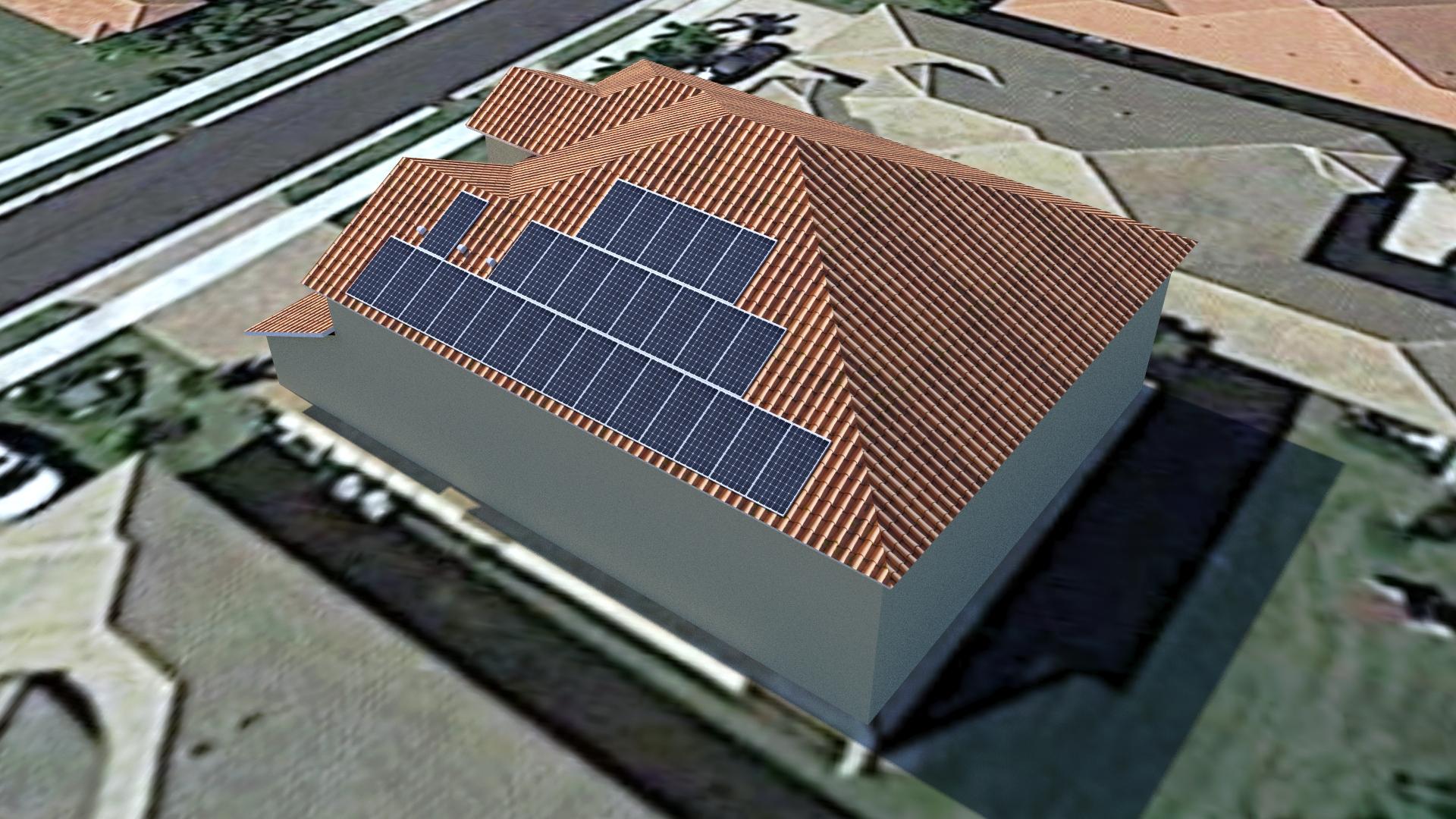 Solar panel design layout 00001 florida solar design group for Solar panel blueprint