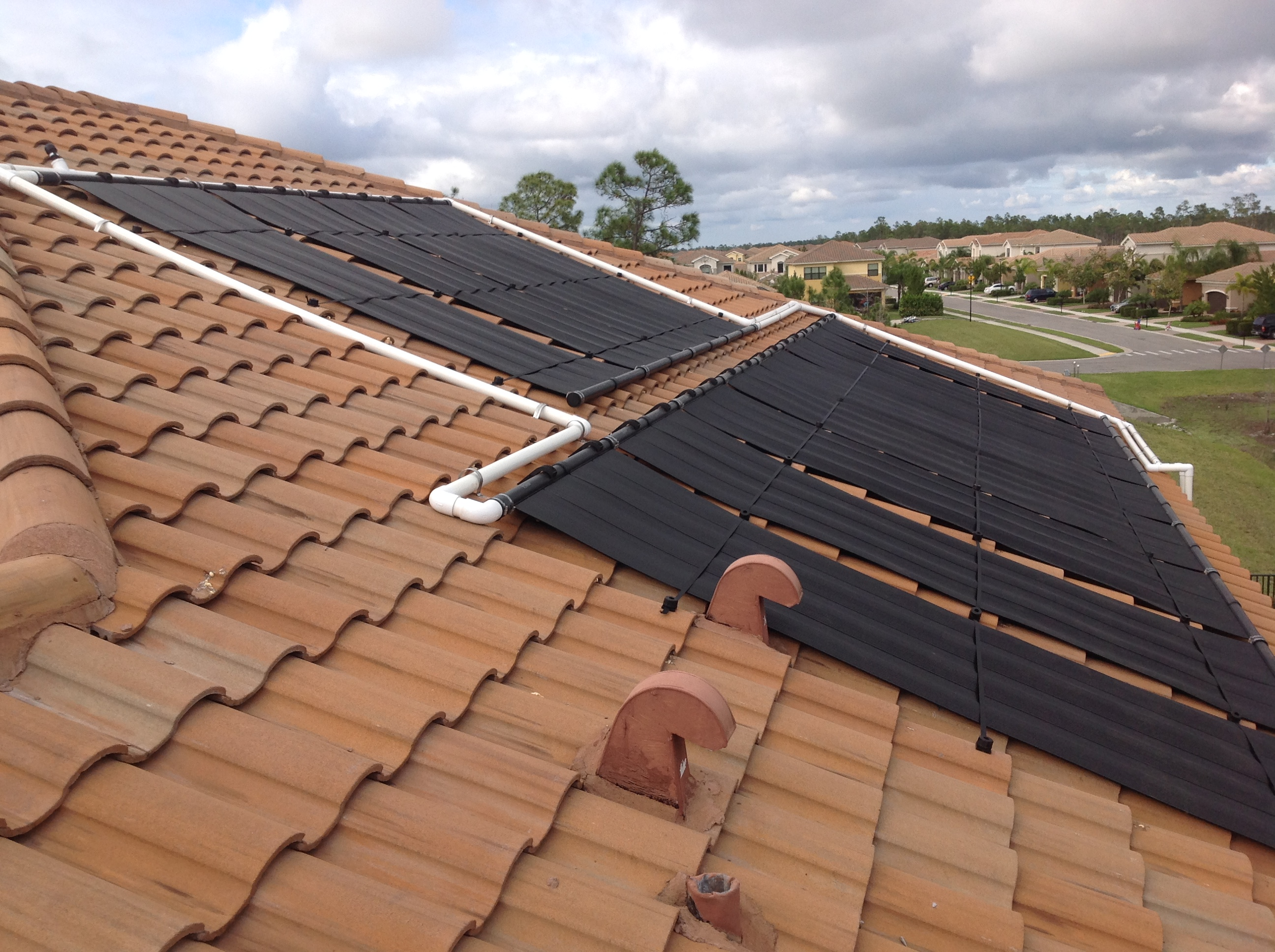 Solar Panels for Swimming Pool in Naples, FL - Florida Solar Design ...