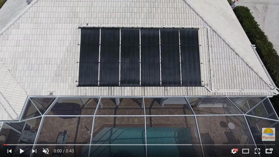 Videos of Solar Pool Heating Panels