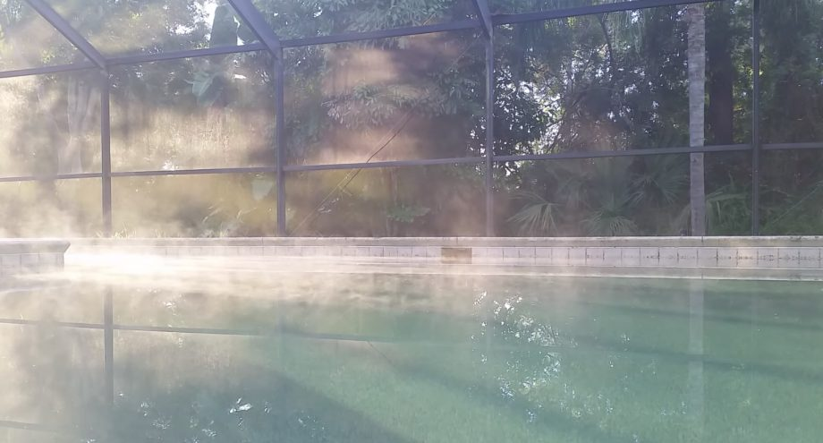 Heated Pools Cause More Evaporation
